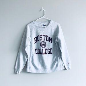 Boston College Women's Crew Neck Sweatshirt